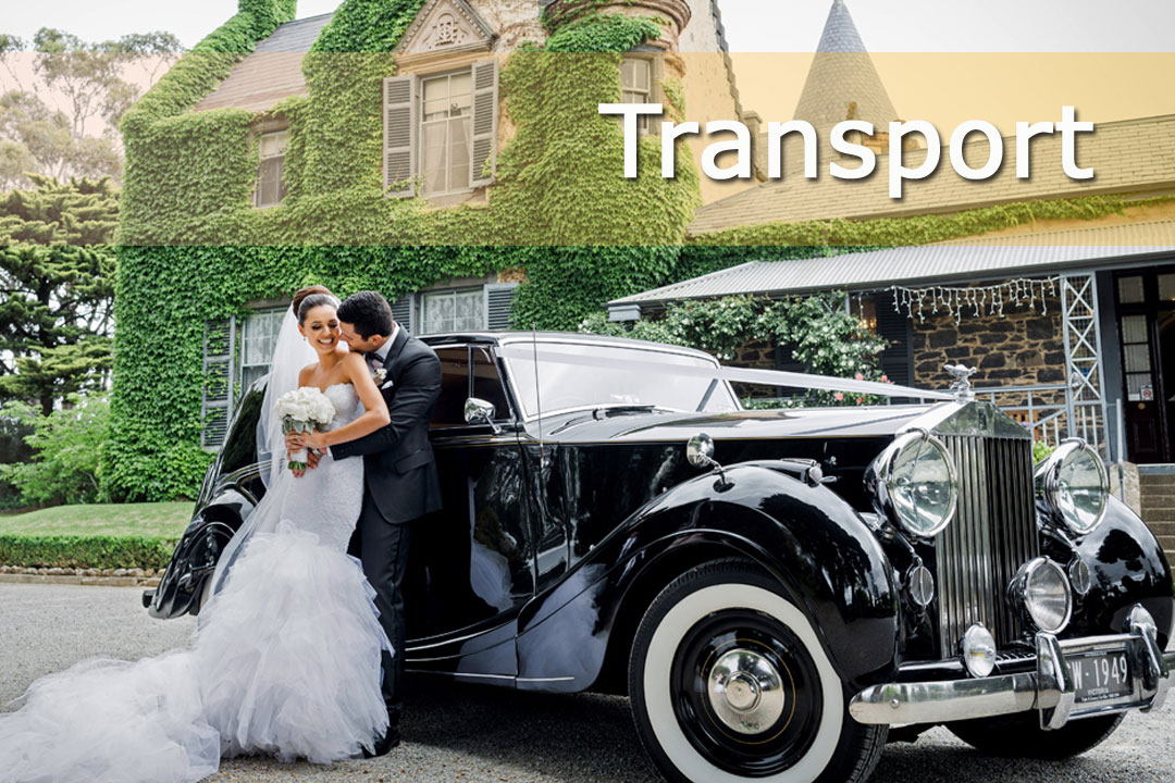 Western Australia Wedding & Bride - Transport
