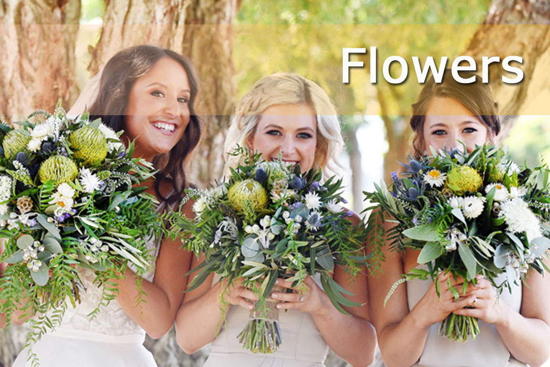 Western Australia Wedding & Bride - Flowers