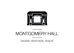Montgomery Hall heritage wedding venue Perth CBD views unique Perth venue chandeliers old playhouse Perth