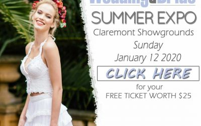 Western Australia Wedding & Bride Summer Expo – January, 2020