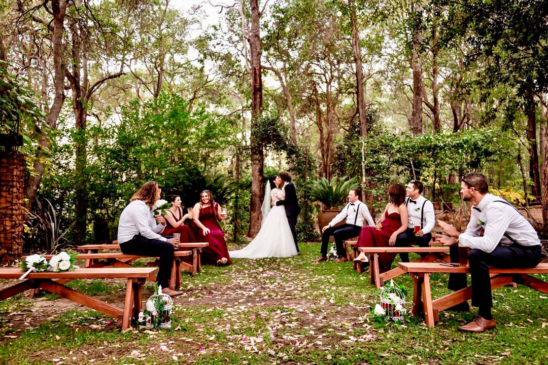 Naked Apple Cider House weddings Perth venue mountains rural venue