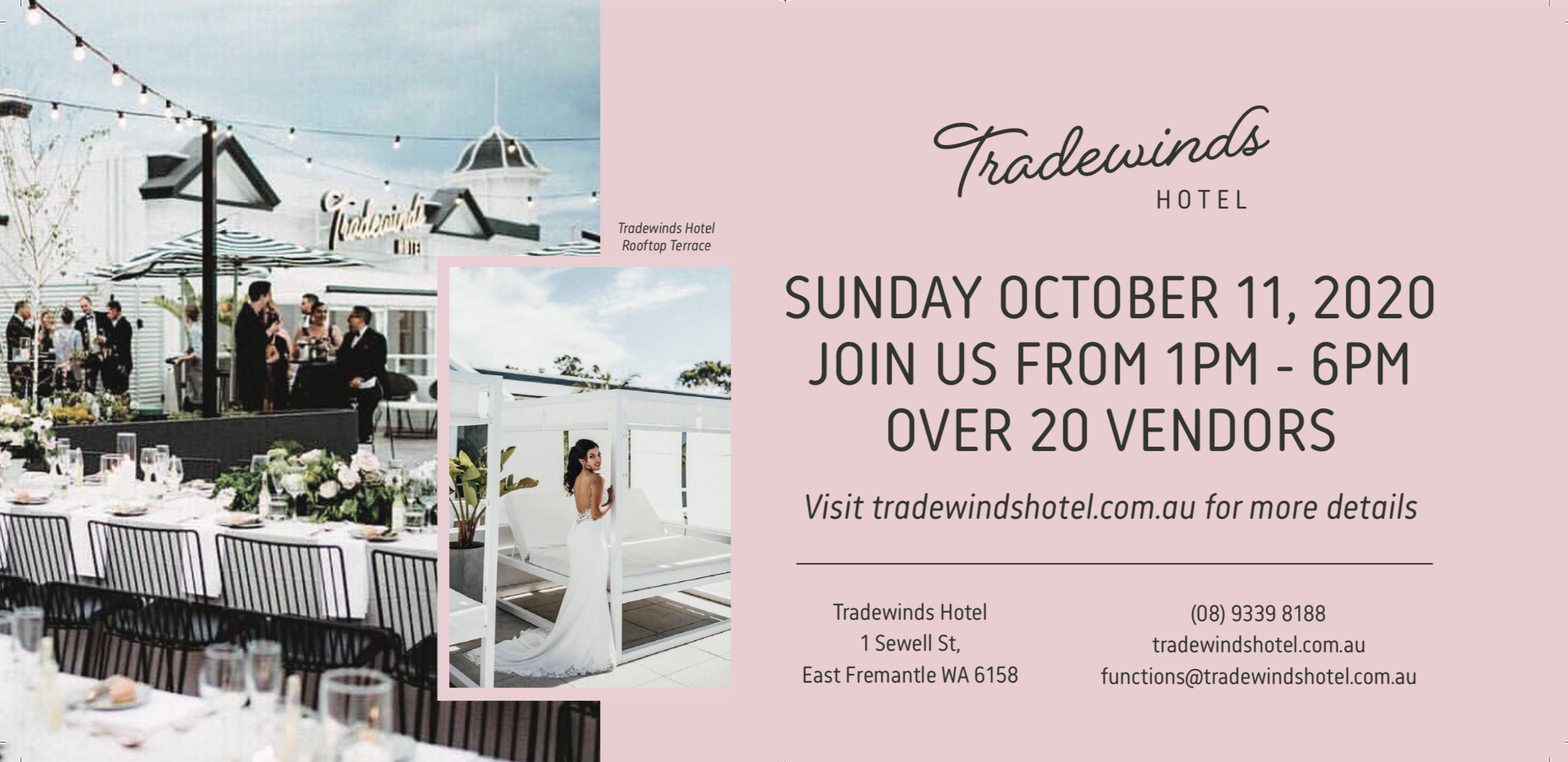 Tradewinds Hotel Wedding Showcase
